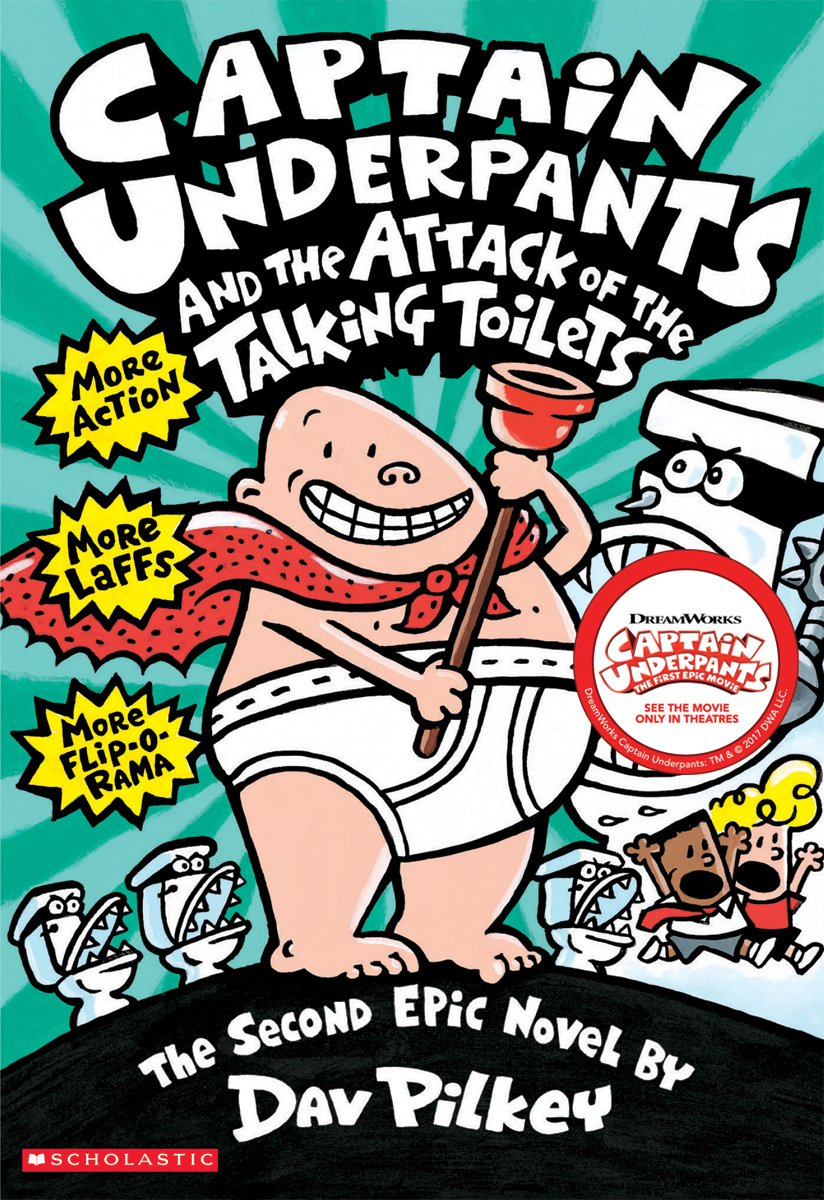 Captain Underpants Attack Talking Toilets product image