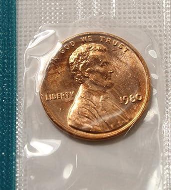 1980 Lincoln Memorial Penny