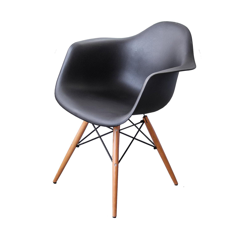 Buschman Juego de Dos sillas de Comedor Modernas de Madera ...