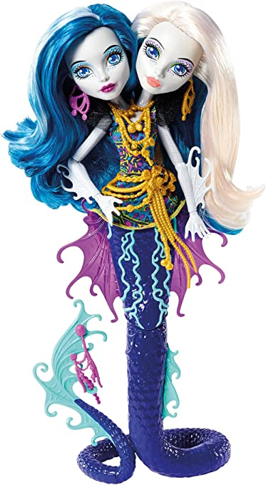 Amazon Com Monster High Great Scarrier Reef Peri Pearl Serpintine Doll Toys Games