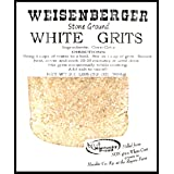 Weisenberger Stone Ground White Grits - Authentic, Old Fashioned, Southern Style Corn Grits - Local Kentucky Proud Product -