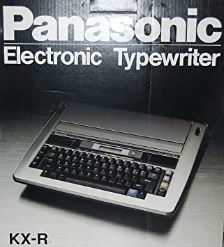 Panasonic kx-r445 electrónico procesador máquina de escribir: Amazon.es: Electrónica