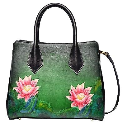 Amazon.com: PIJUSHI Bolsas de piel con asa superior y bolsos ...