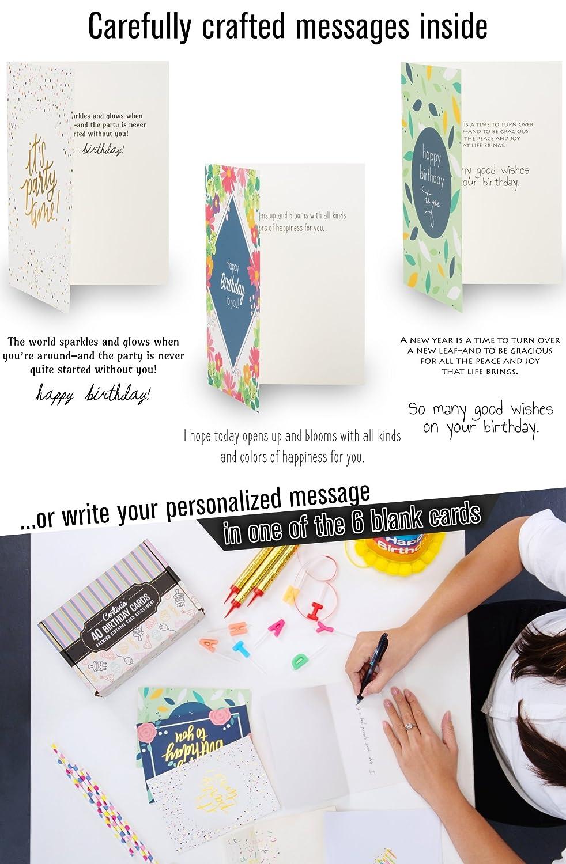 Amazon Happy Birthday Cards Bulk Premium Assortment 40