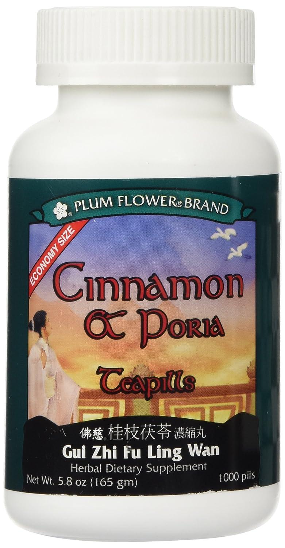 Cinnamon Poria ECONOMY SIZE, 1000 ct, Plum Flower