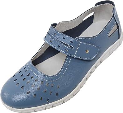 Absolute Footwear Ladies/Womens Leather