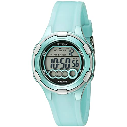 Armitron Sport Womens 45/7053 Digital Resin Strap Watch