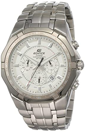 11f82d4d8 Casio Edifice Chronograph White Dial Men's Watch - EF-540D-7AVDF (ED373)