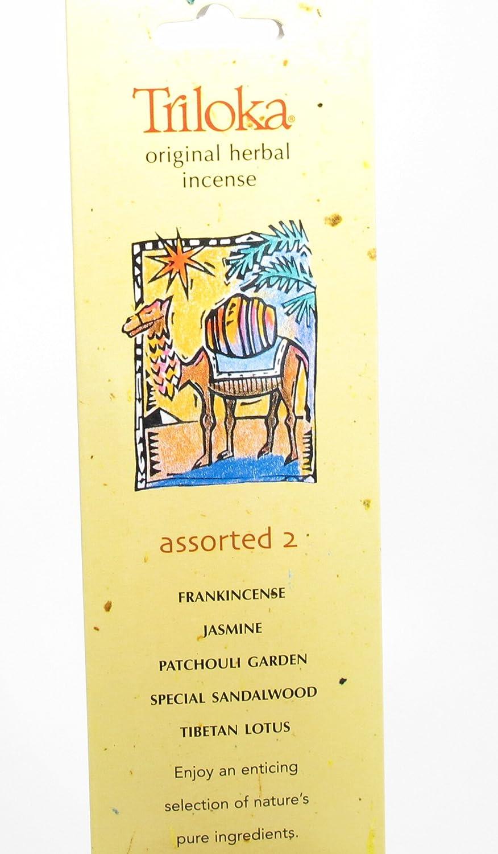 Triloka – 元Herbal Incense Assorted Fragrances 2 – 10スティック( S )   B001EYF7P4