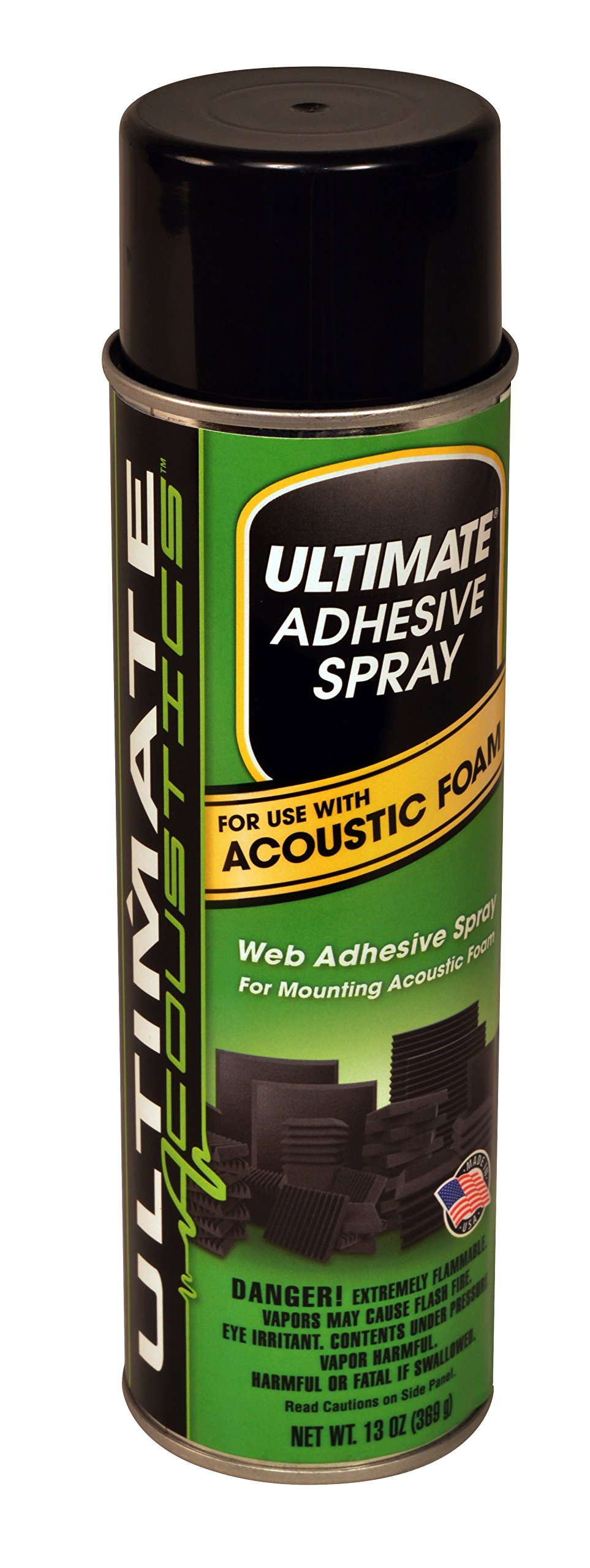 Ultimate Acoustics UA AS1 Acoustic Adhesive Spray by Ultimate (Image #1)