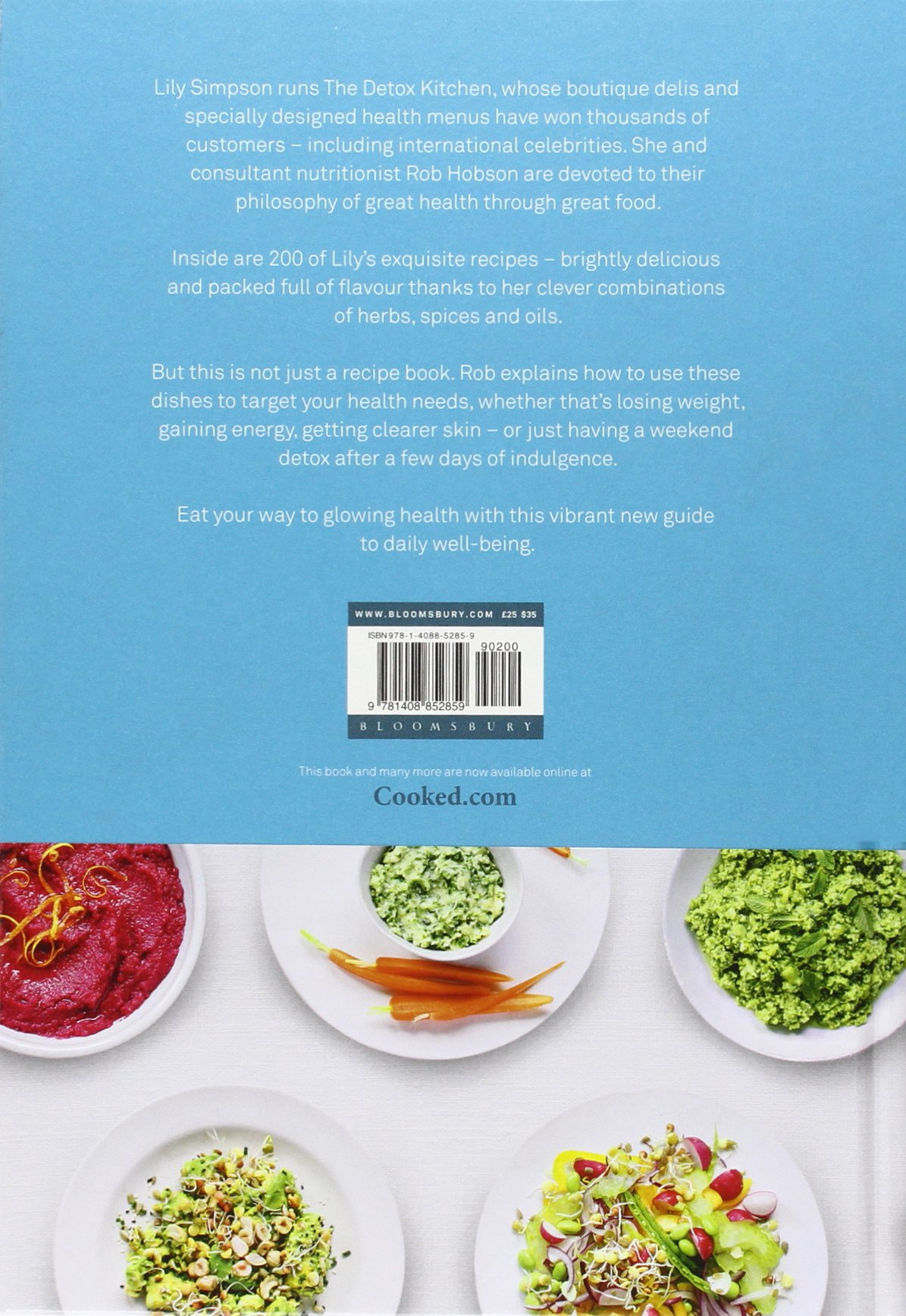 The Detox Kitchen Bible: Lily Simpson, Rob Hobson: 9781408852859 ...