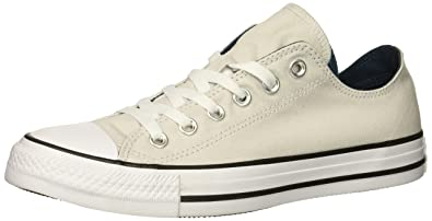 a9b989c14ade Converse Women s Chuck Taylor All Star Double Tongue Low TOP Sneaker Mouse  White Black
