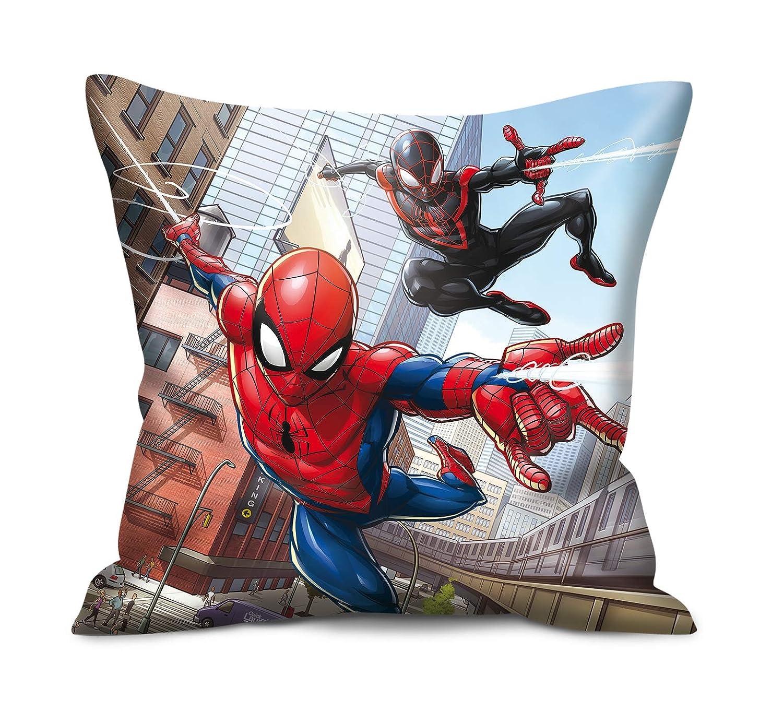 Marvel - Cojín Infantil (40 x 40 cm), diseño de Spiderman ...