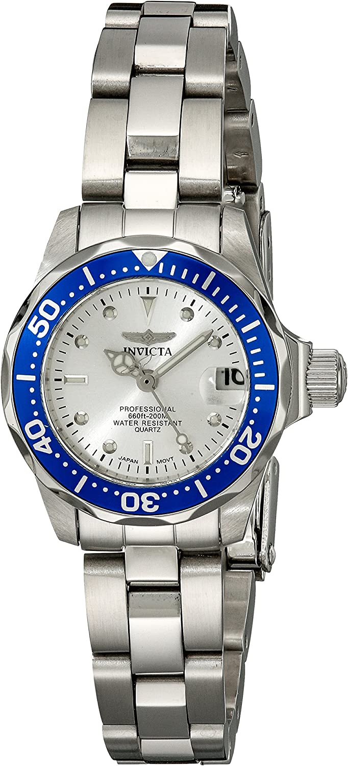 Invicta Women s 14125 Pro Diver Stainless Steel Bracelet Watch