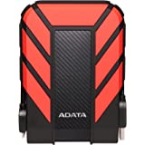 ADATA HD710 Pro 1TB Durable Shockproof External Hard Drive, Red