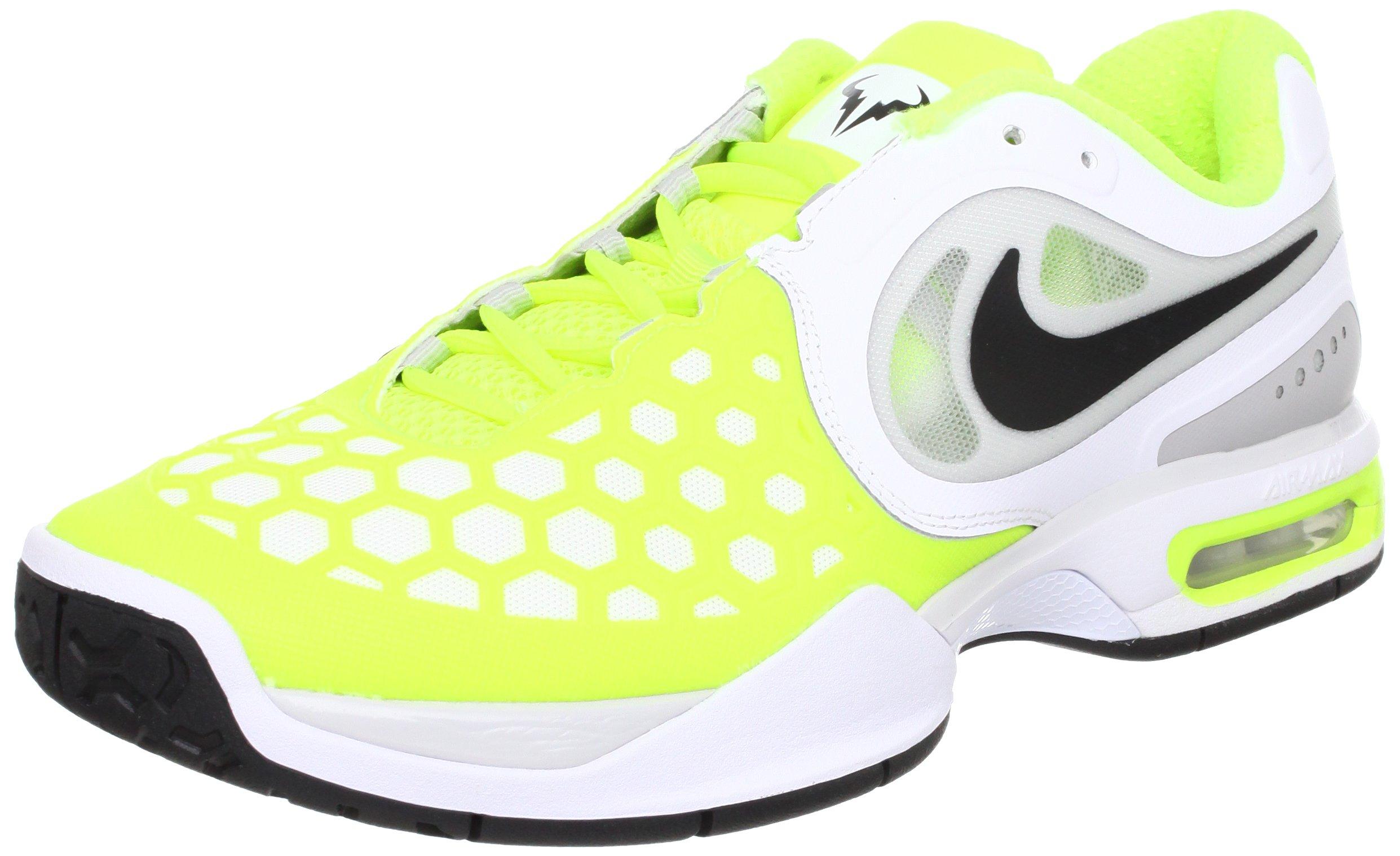 los angeles 5cc4a 7d2d0 Galleon - Nike Air Max Court Ballistec 4.3 Tennis Shoes - 7 - White