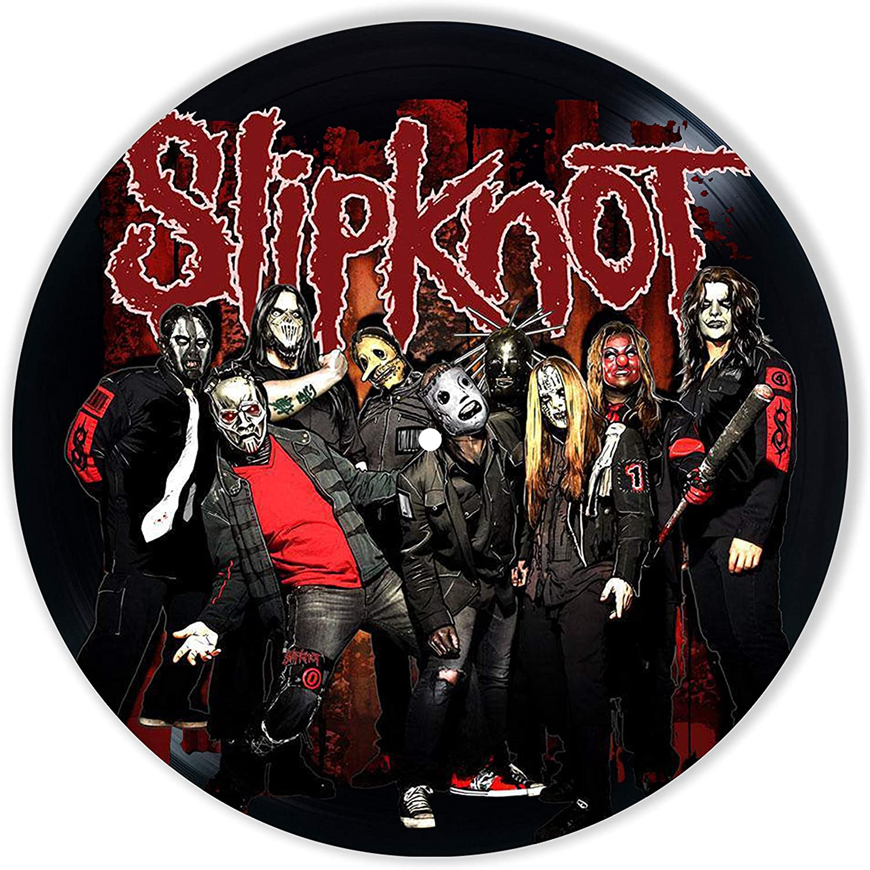 Slipknot Vinyl Decor, Wall Decor Painted Slipknot, Original Gifts for Music Lovers, The Best Gift for Souvenir, Unique Wall Art Home Decor