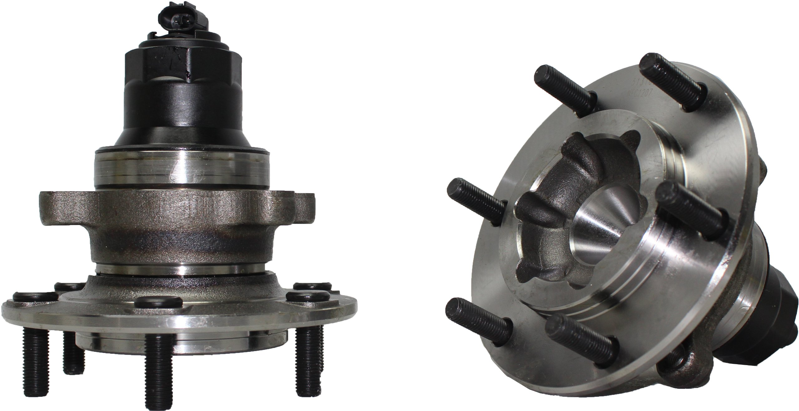 Detroit Axle - Front Wheel Bearing & Hub Assembly Driver or Passenger Side fits 2002-2004 Isuzu Axiom 2WD - [02-04 Rodeo 2wd] - 02-03 Rodeo Sport 2wd - [02 Honda Passport 2WD] by Detroit Axle (Image #3)