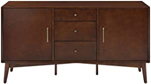 Crosley Furniture Landon Buffet and Large Console, Mahogany