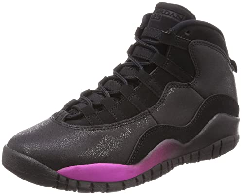 wholesale dealer 38b51 522ff Nike Unisex Kids' Air Jordan 10 Retro Gg Gymnastics Shoes ...