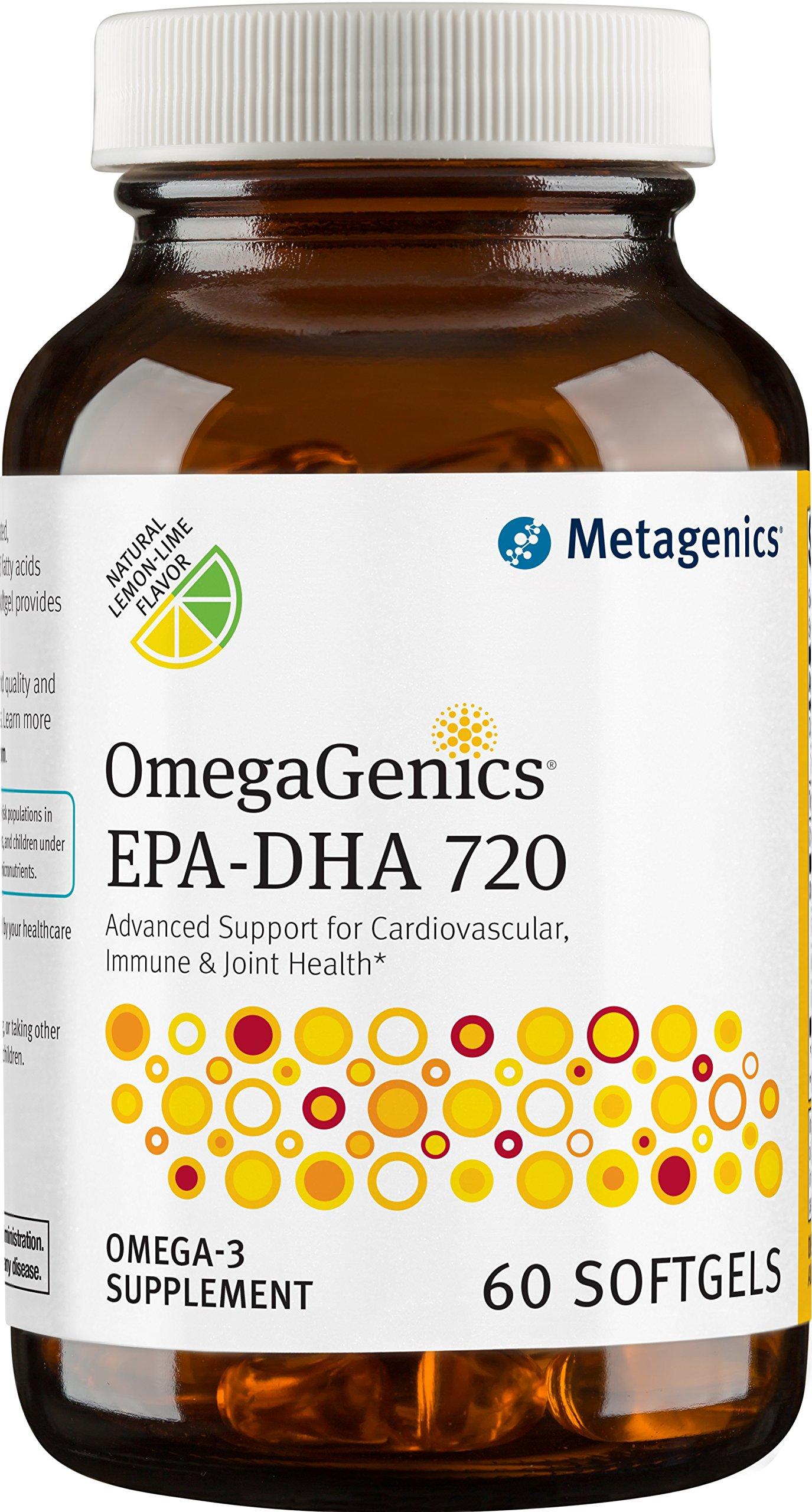 Metagenics - OmegaGenics EPA-DHA 720, 60 Count
