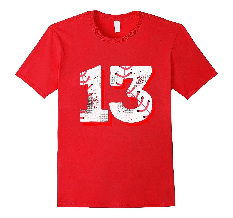 13th Birthday Baseball T Shirt Party Gifts Girls Boys Tee