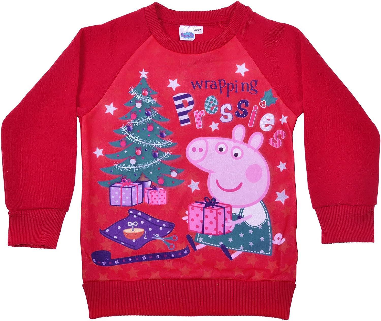 Amazing Grandad Pig Gift Xmas Festive Jumper Top Grandad Pig Christmas Jumper