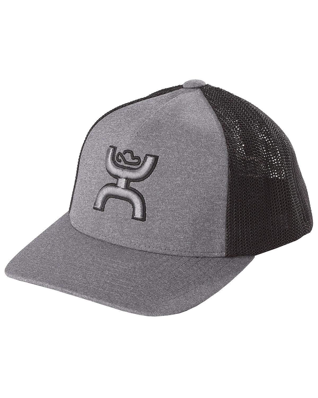 HOOey Boys Grey Coach Flexfit Cap Grey One Size