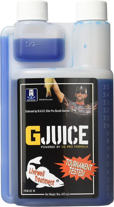 T-H Marine U28-FW G-Juice Livewell Treatment - Freshwater, 8 oz.