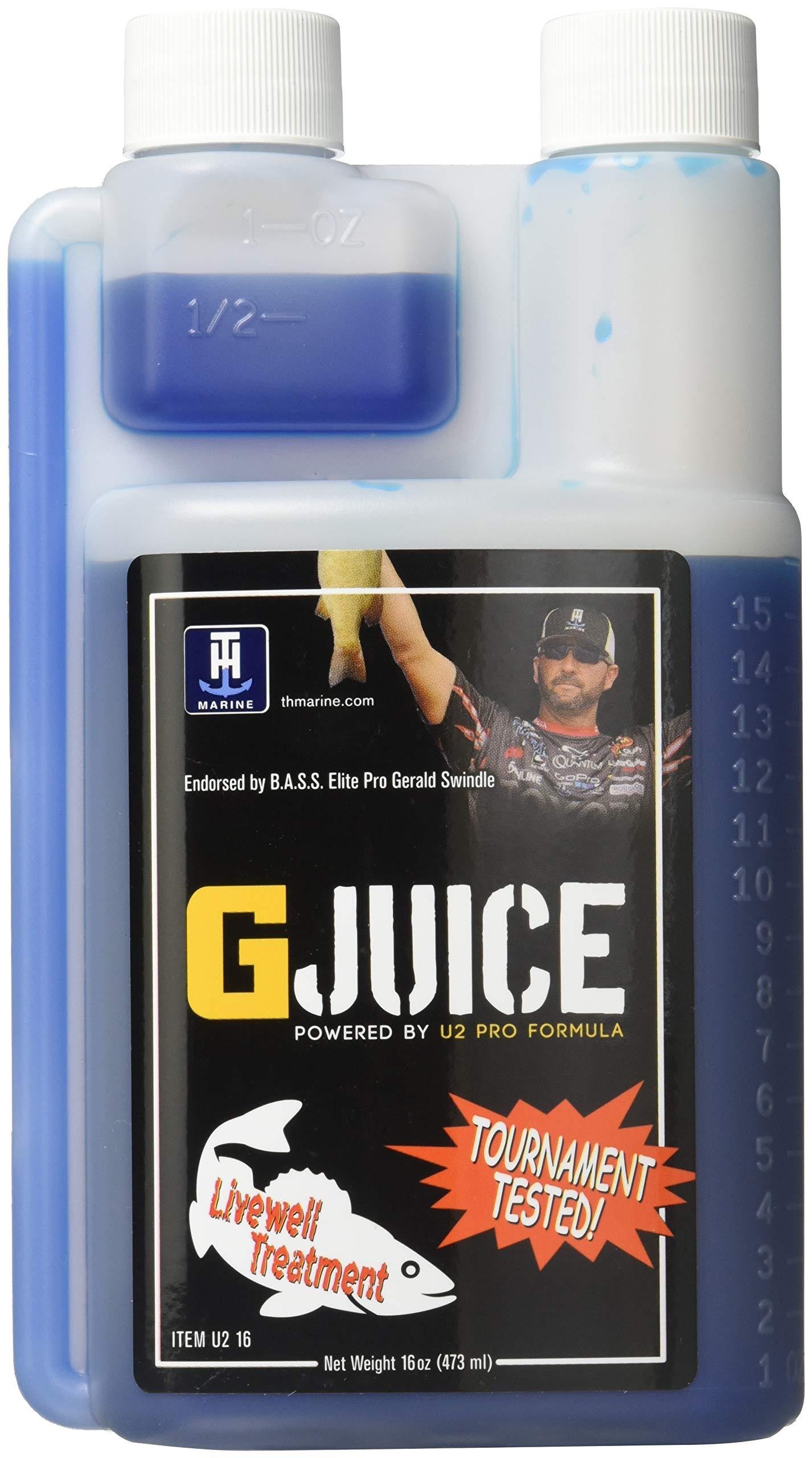 T-H Marine U216-FW G-Juice Livewell Treatment - Freshwater, 16 oz.