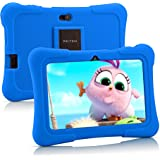 Pritom 7 inch Kids Tablet, Quad Core Android,1GB RAM+16GB ROM, WiFi,Bluetooth,Dual Camera, Educationl,Games,Parental Control,