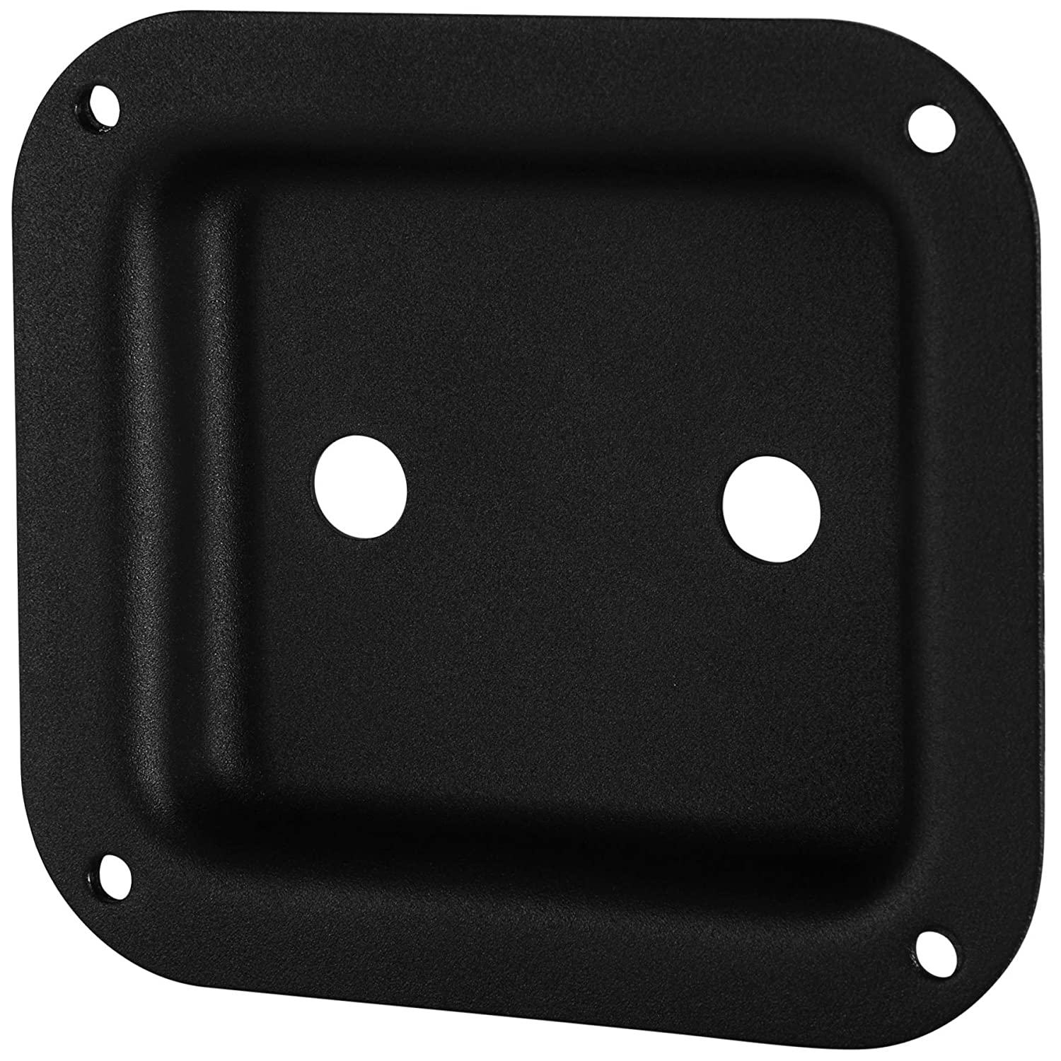 "Penn-Elcom D0938K Dish Two 1/4"" Jacks Black 4"" x 4-3/8"" 812GDjxyVcL"