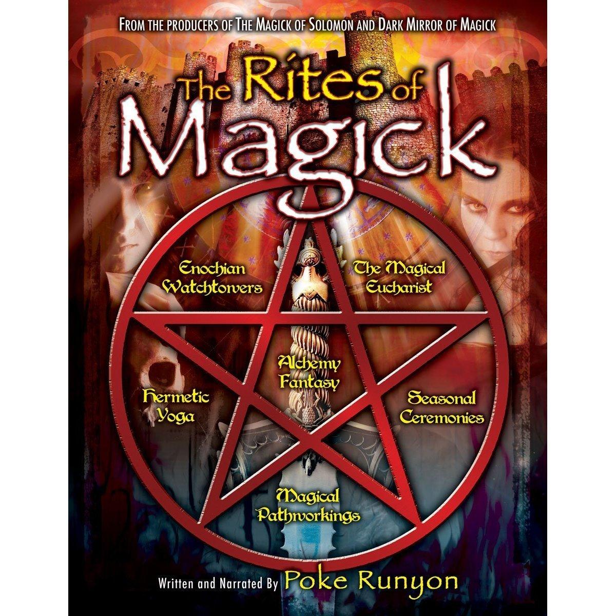 DVD : Poke Runyon - The Rites Of Magick (Full Frame, Dolby)