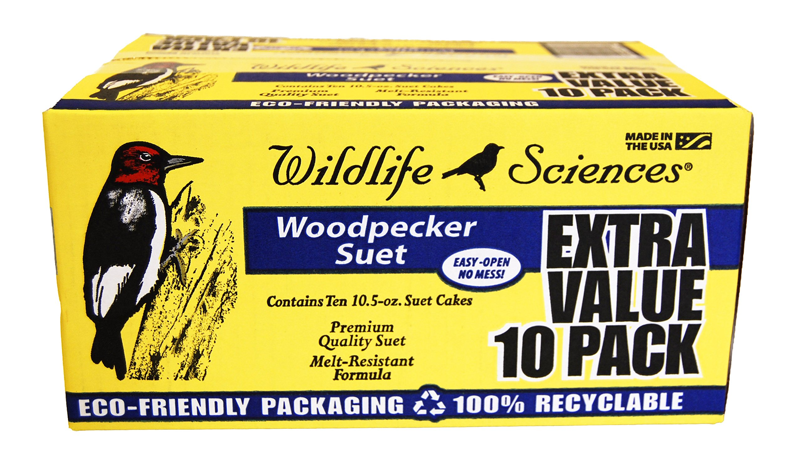 Wildlife Sciences Woodpecker Suet 10 Pack by Wildlife Sciences