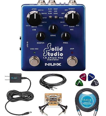 Amazon com: NUX NSS-5 Solid Studio IR Power Amp Simulator