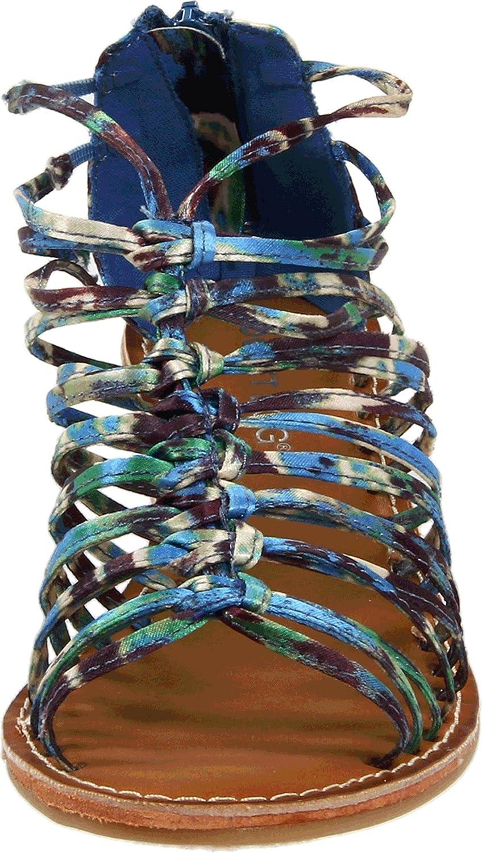 Rocket Dog Women's US|Blue Havana Sandal B007RO7BEK 7 B(M) US|Blue Women's Tiki Dance e78653