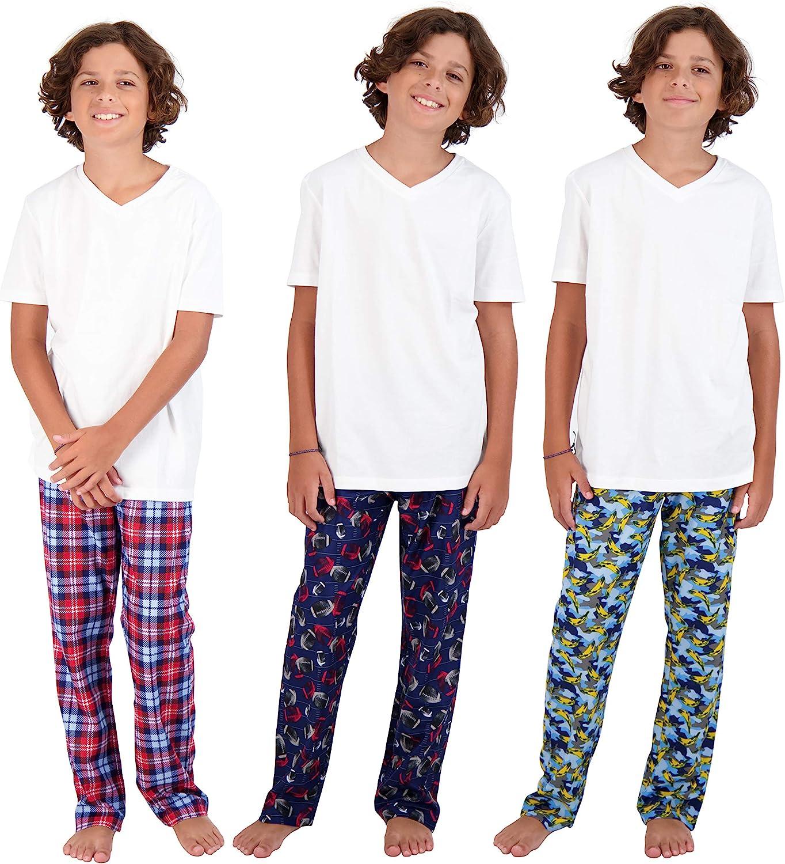 Sleep On It Big Boys Fleece Pajama Pants