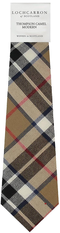 Amazon.com: Thomson Camel Plaid (moderna) suave de lana pura ...