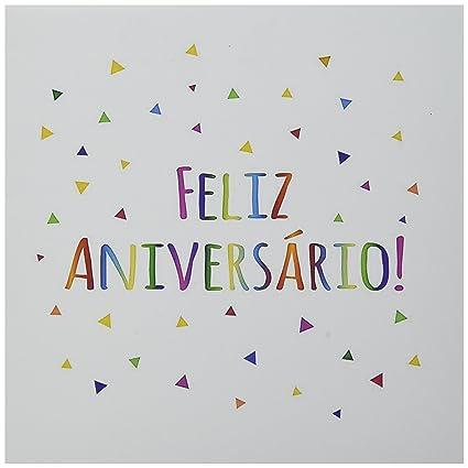 Amazon 3dRose Feliz Aniversario