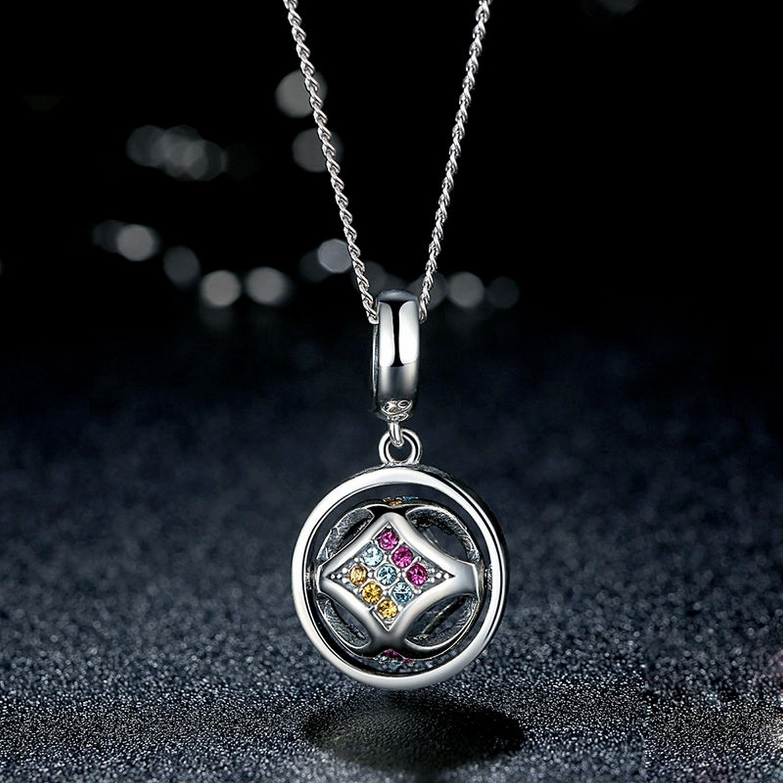 MMC Womens Necklaces Colorful Crystal Bridel Pendants