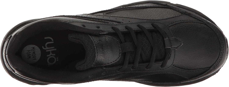 RYKA Womens Comfort Walking Shoe Black 4 UK
