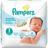 Pampers New Baby Sensitive Pants, Size 1 (Total 92 Nappies)