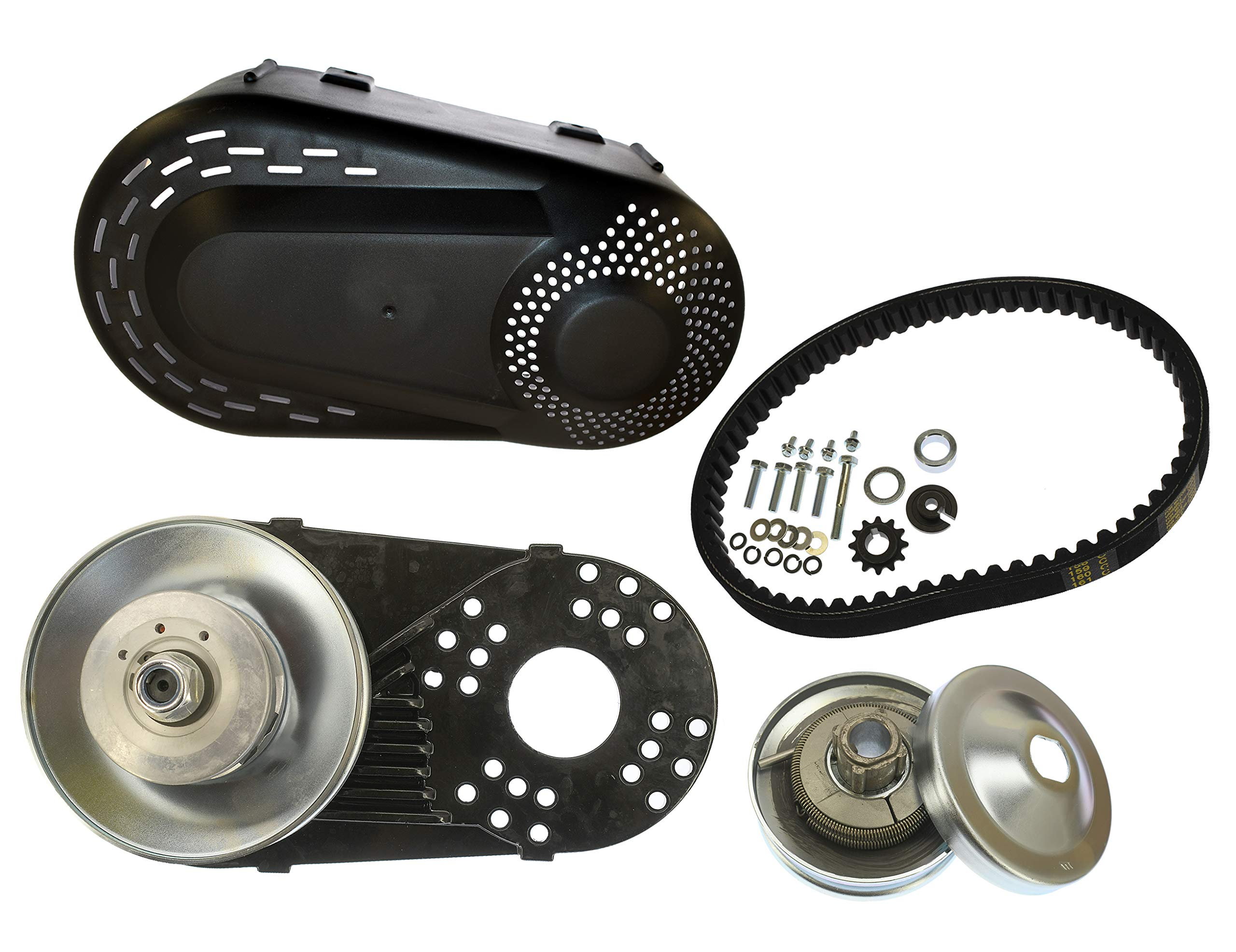 GoPowerSports Go Kart Mini Bike Torque Converter Kit, Replacement kit for the Comet TAV2 218353, Works on Predator engines