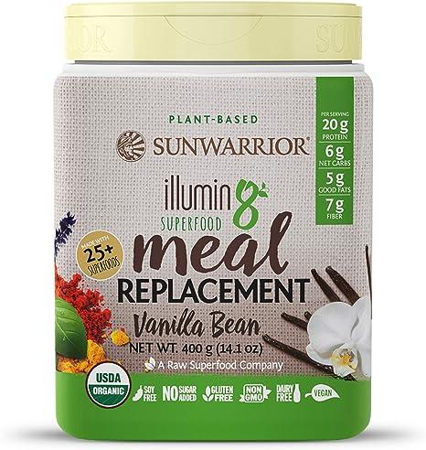 Sunwarrior Illumin8 Vanilla Bean - 400 gr