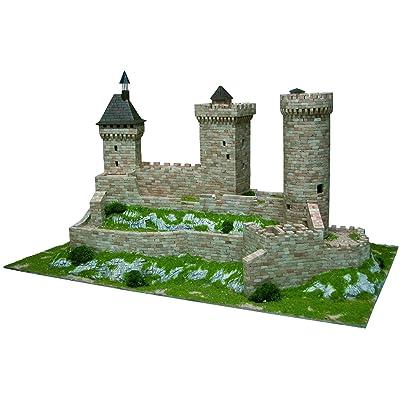 AEDES Aedes1010 Foix Castle - Kit de Modelo, 37 x 26 x 7 cm: Juguetes y juegos