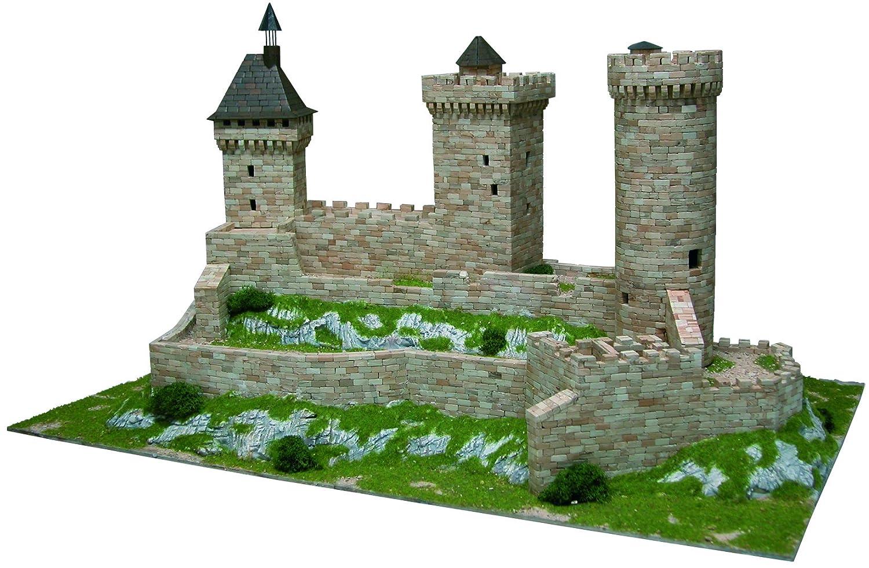 AEDES Aedes1010 Foix Castle - Kit de Modelo, 37 x 26 x 7 cm