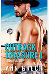 Outback Treasure I: A gay cowboy age-gap forced proximity romance (Pearce Station Duet Book 1) Kindle Edition