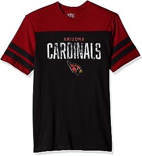 7609c62e1 Amazon.com   Icer Brands NFL Men s Jersey T-Shirt V-Neck Mesh Stripe ...