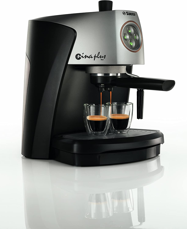 Saeco RI9357/01 Nina Bar - Cafetera de espresso con brazo: Amazon.es: Hogar