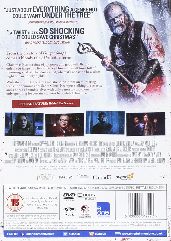 A Christmas Horror Story [DVD]: Amazon.co.uk: William Shatner ...